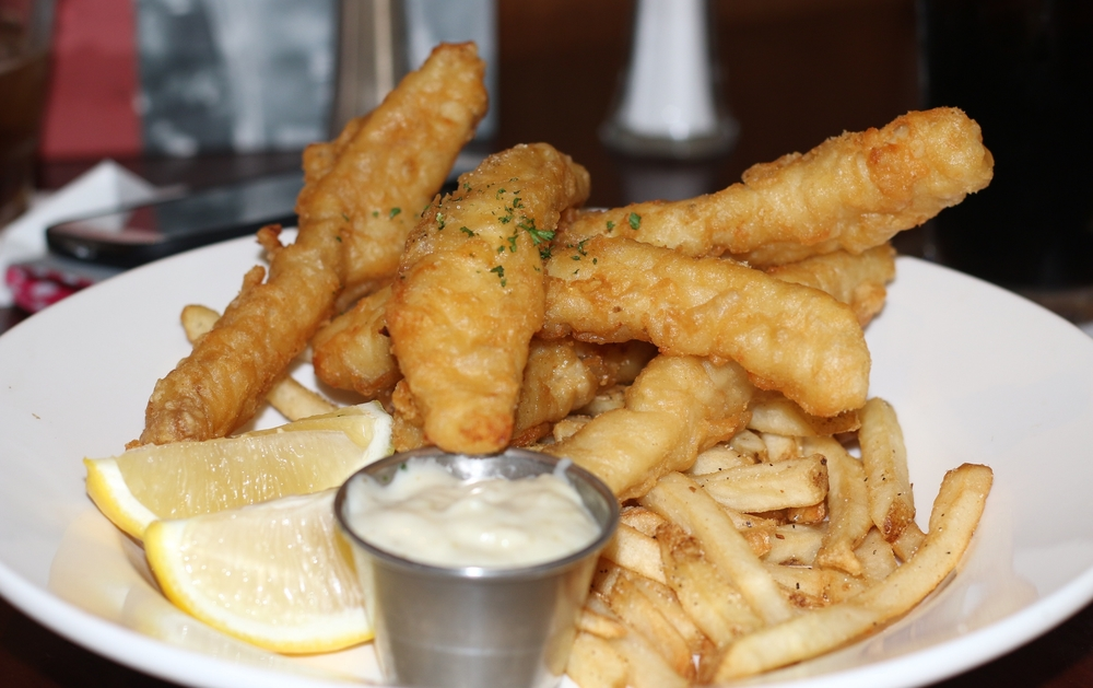 The fish n' chips from TGI Fridays