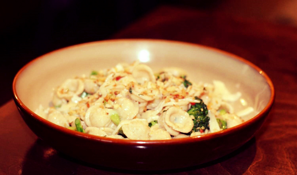 The broccolini orecchiette at Tipo 00