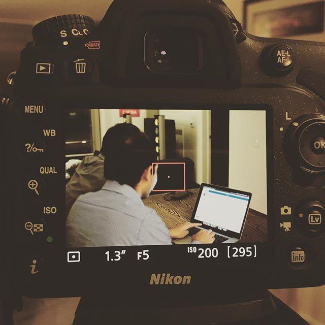 Framed! #audiotroupe #videoshoot #nikon #photooftheday #dslr