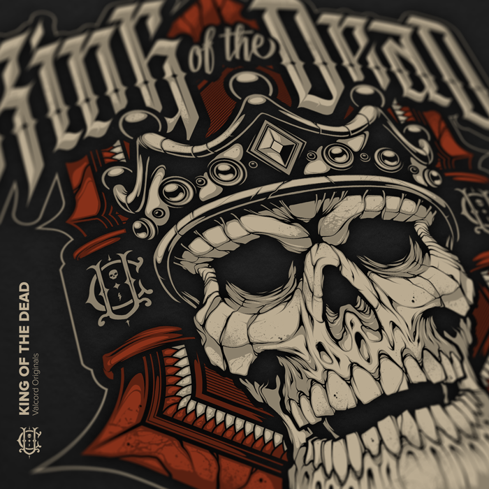 KING OF THE DEAD - Apparel Design