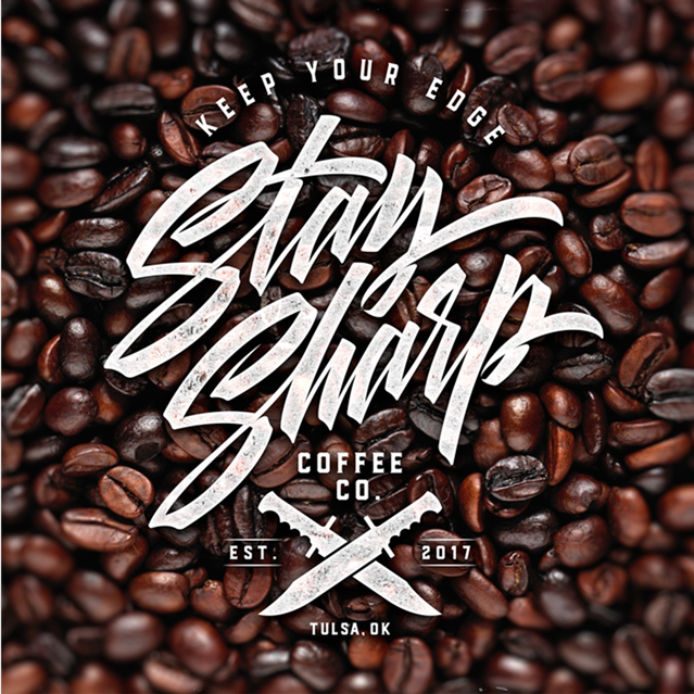 STAY SHARP COFFEE CO. - Logo Design