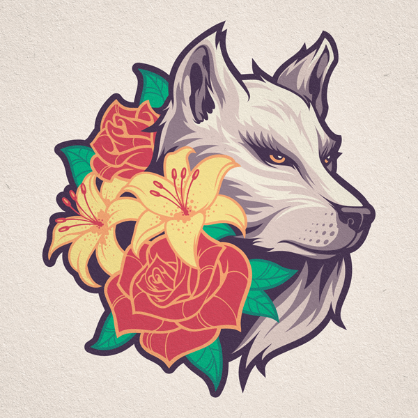 Wolf-Flowers-PATCH.png
