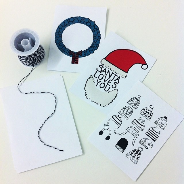 print your own holiday or greeting cards taster workshop