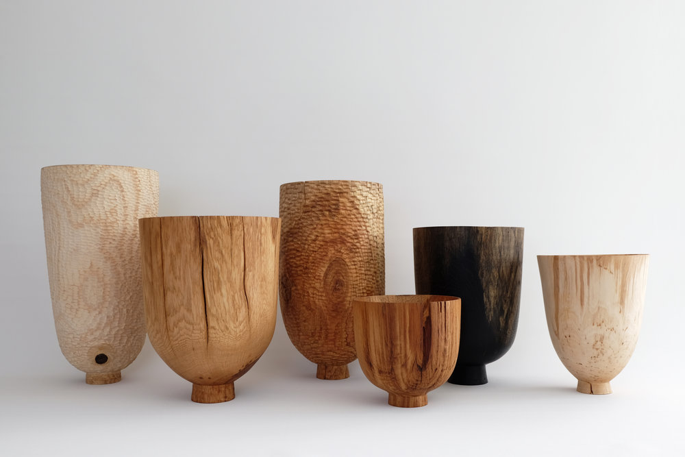 Vessels 2016 / native british hardwoods