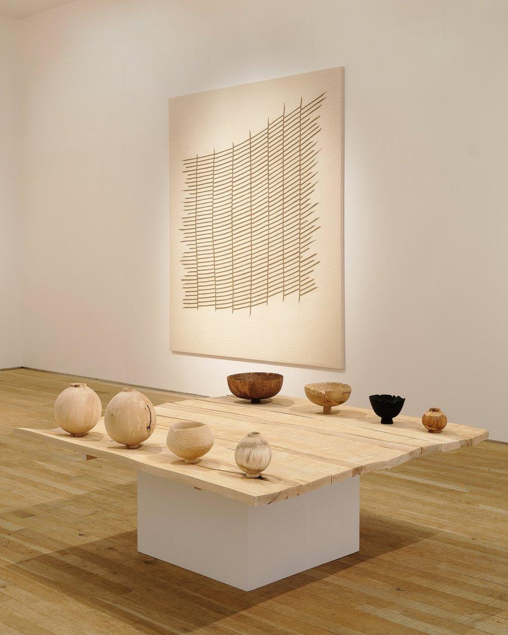 Abigail Booth | Max Bainbridge | Artists | Wood Vessels | Textile Art