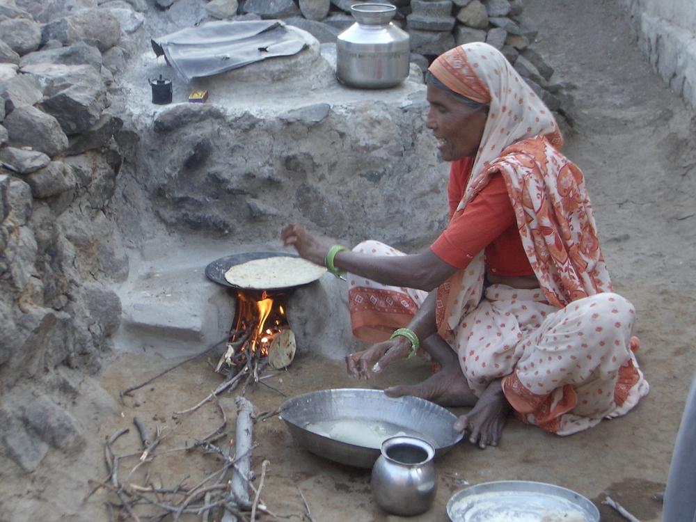 Making Chapathi