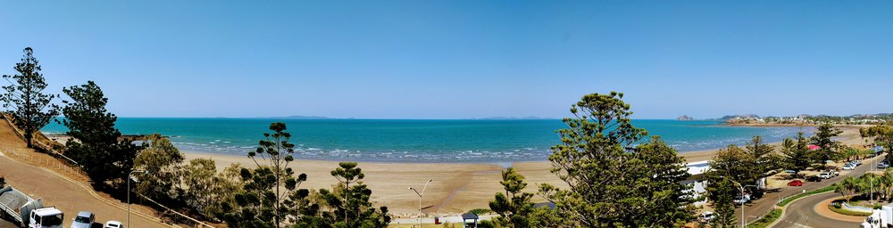 The pretty Yeppoon foreshore