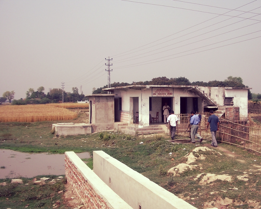 Rural health clinic is considered the middle level rural health provider, usually with a permanent community health worker, basic medicines and immunisations.