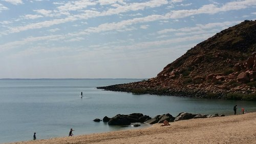 Stunning but sweltering beaches