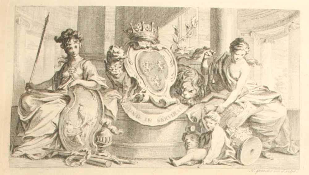 Figure 1. Illustration from Dedicatory Page, Pococke (1743)