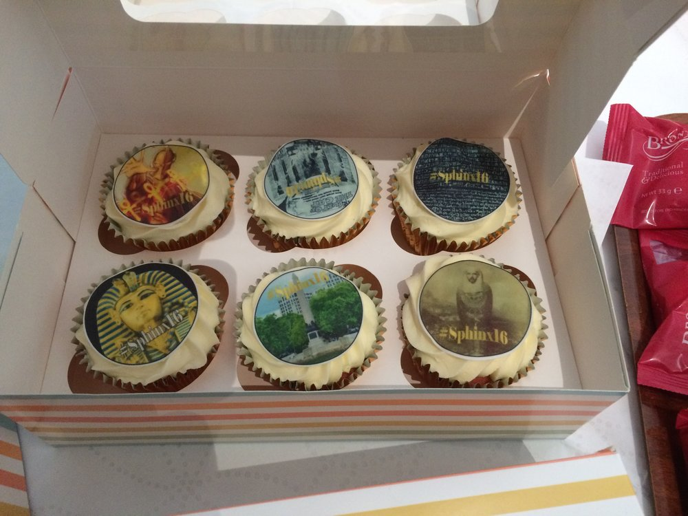 Some of the amazing Egyptomania Cupcakes!