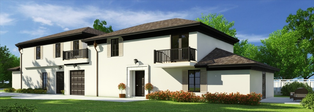 Back Unit of Townhomes • 3 bedrooms, 3.5 baths • 1,986 Sq. Ft. • New construction