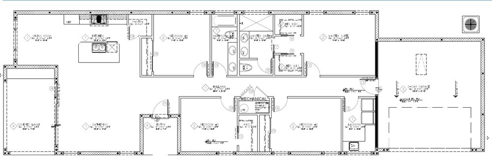 Floor Plan: 1,833 Sq. Ft. under air with 465 Sq. Ft. Garage, 171 Sq. Ft. Covered Lanai, 49 Sq. Ft. Entryway. Total Gross 2,518 Sq. Ft.