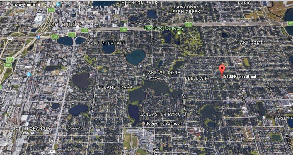 Location Aerial