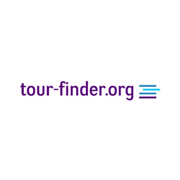 tour-finder.org branding designed by Seb Castle.