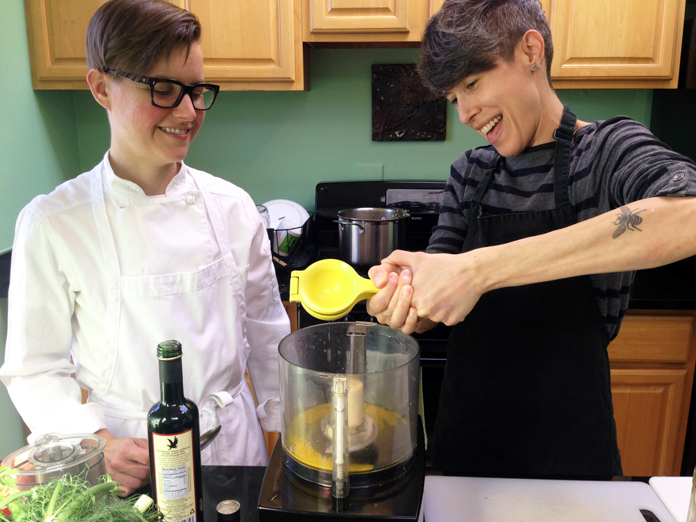 A Cooking Lesson with Raechel