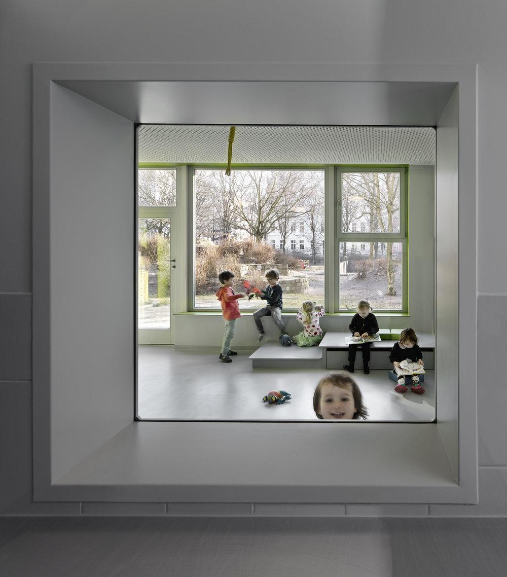 Farbwelt Kindergarten Stettiner Str — thinkbuild architecture