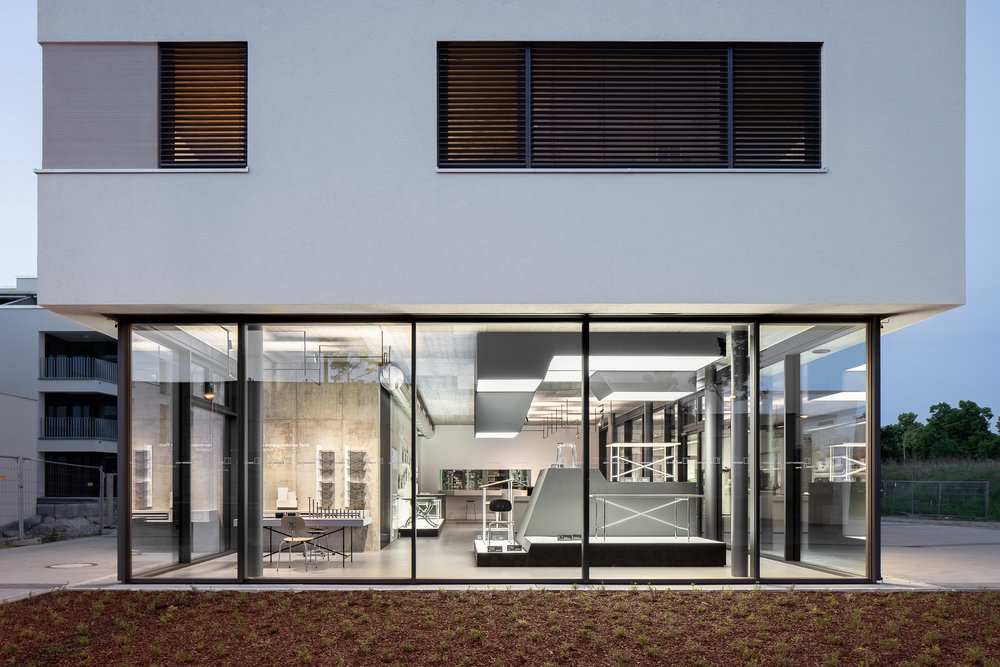 Neubau Tischmanufaktur Adam Wieland / Karlsruhe