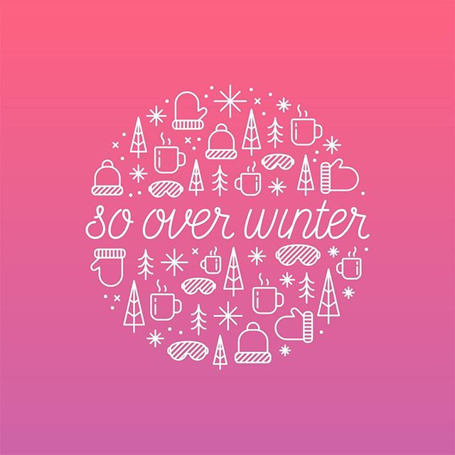 Who's with me? 🤣 #winter #over #please