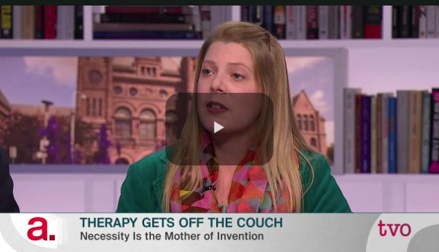 The Agenda with Steve Paikin -  Therapy Gets off the Couch