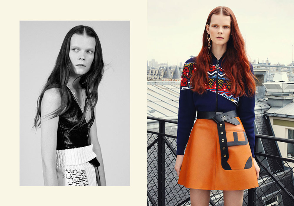 Telegraph Fashion Story in Stella styled by Charlie Harrington. Spread 1.