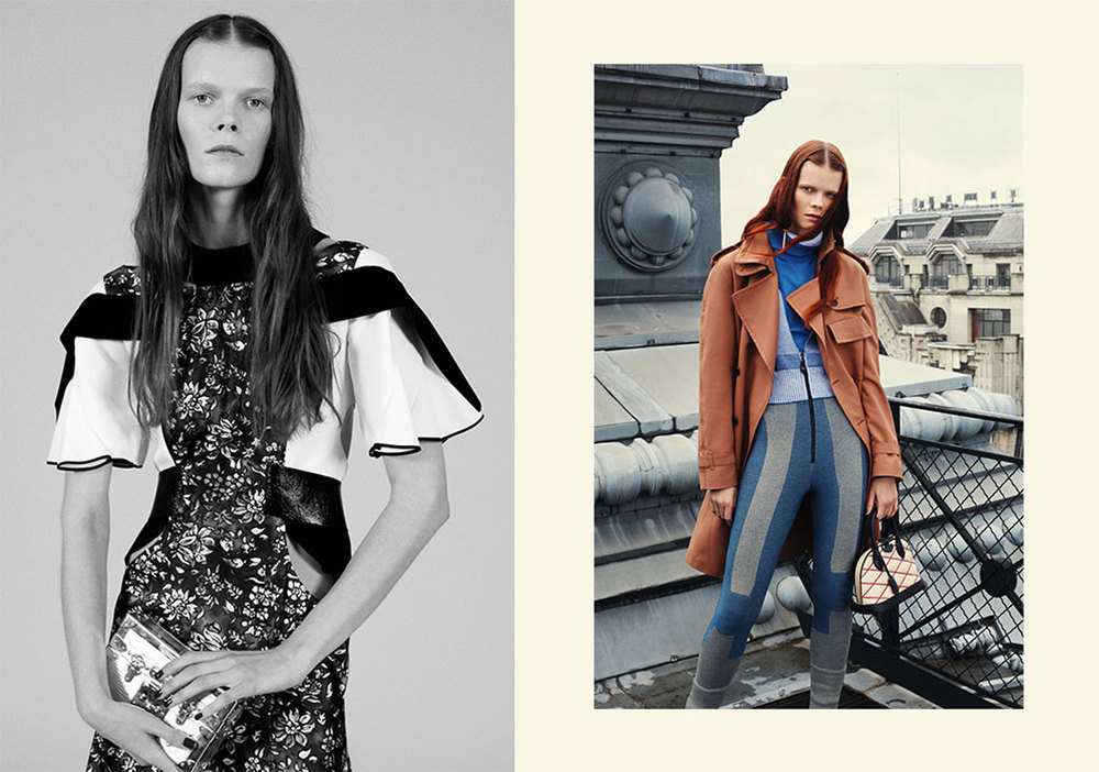Telegraph Fashion Story in Stella styled by Charlie Harrington. Spread 3.
