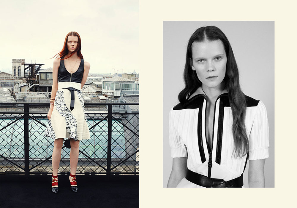 Telegraph Fashion Story in Stella styled by Charlie Harrington. Spread 7.