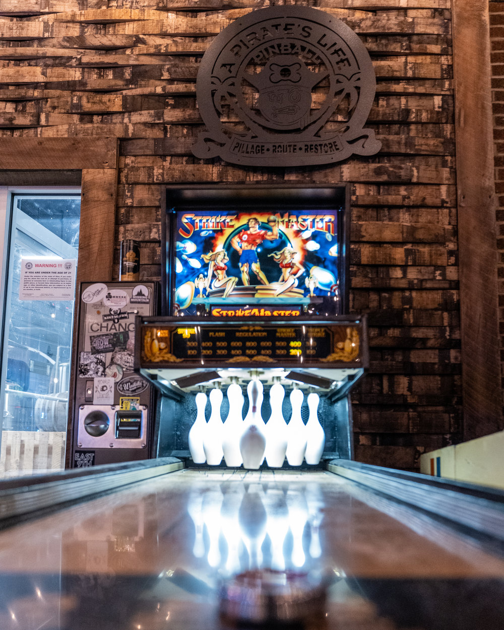 PUCK BOWLER, BALL BOWLERS, SKEE-BALL, AND MORE - Pinball and bowling league coming soon…