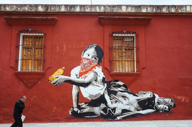 Recent artwork for opening night at Instituto de artes graficas