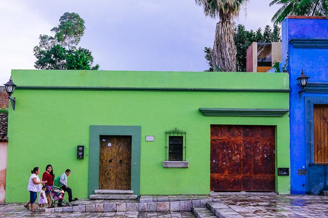 Green building in lovers lane