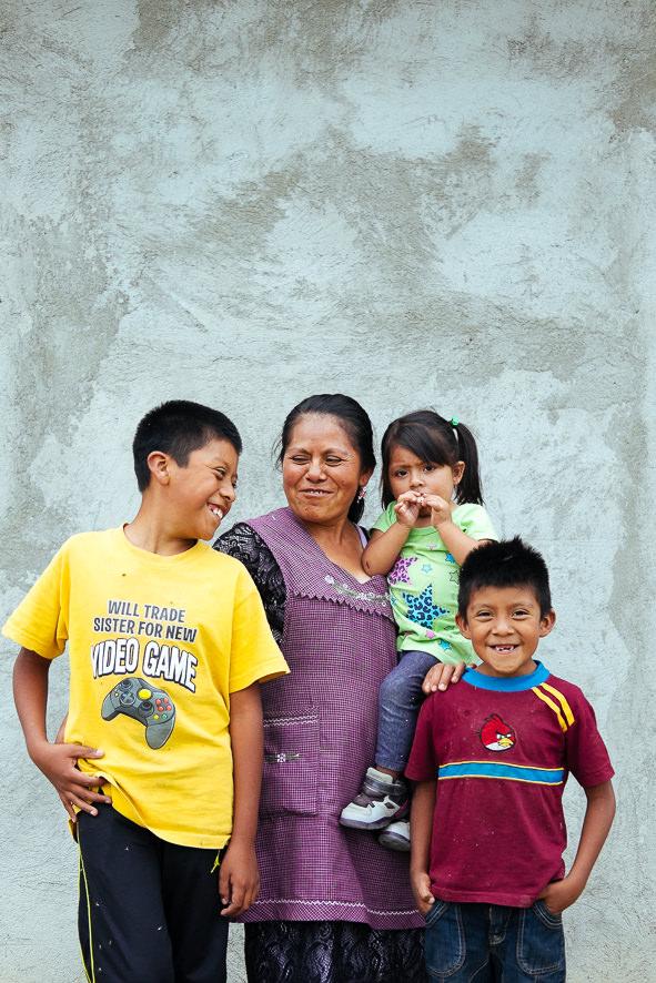 Mendoza family and their smiles