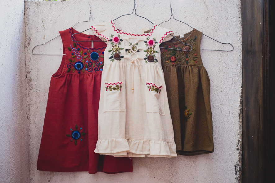 GUATEMALAN GIRLS EMBROIDERED DRESSES   STATUS: AVAILABLE TO ORDER