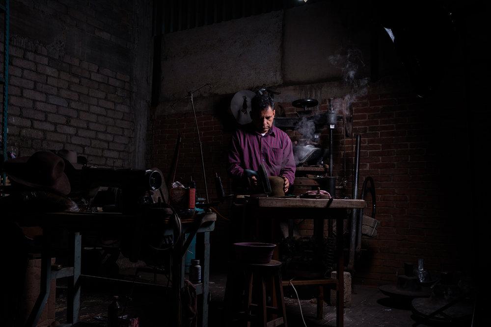 - Journey with a Oaxacan Master Hatter:Armando Gomez Garcia