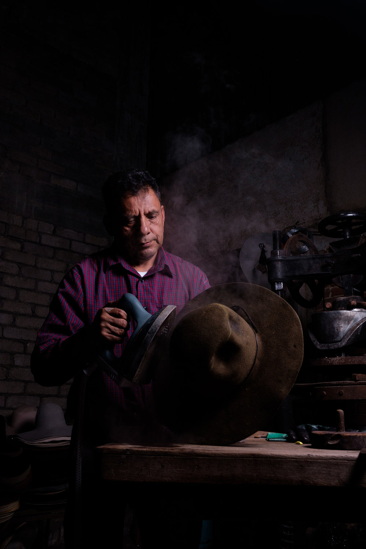 oaxaca hat maker homewares mexico