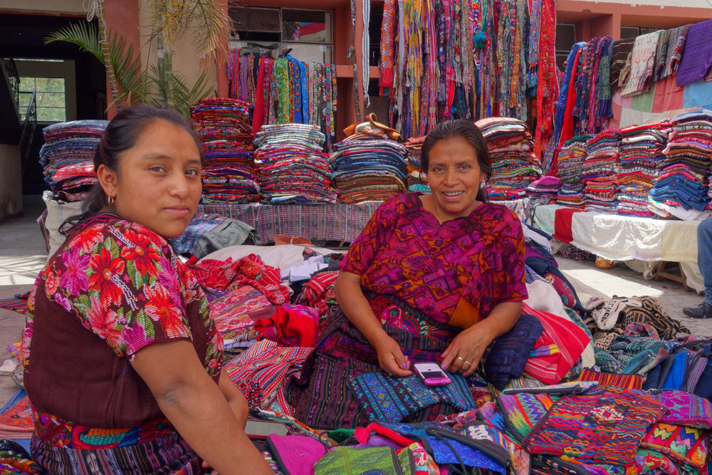 Fransisca: Second Hand Textile Merchant - Panajachel, Guatemala