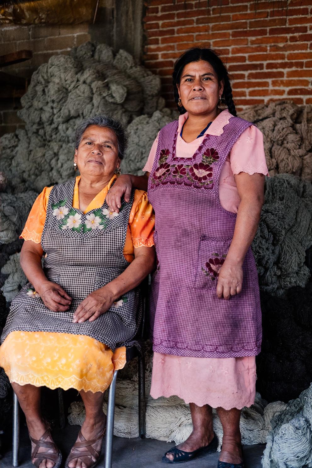 Magdalena:  Master Dyer - Teotitlan, Mexico