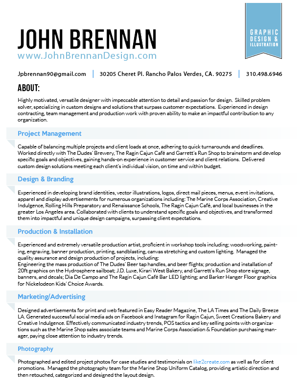 John Brennan_Resume_1