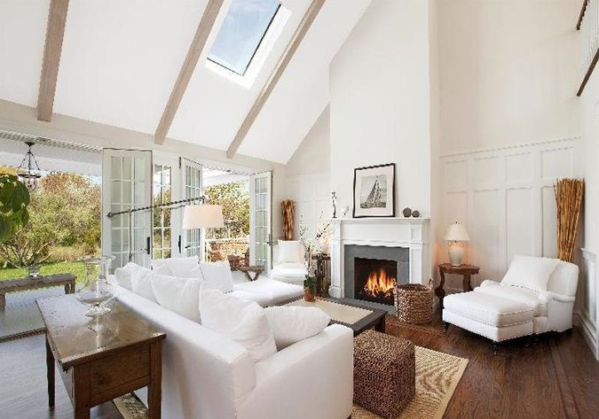 Lookslikewhite blog for Hamptons living room designs