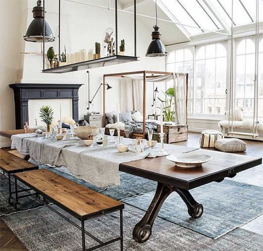 Industrial Home Design Spectacular Modern Industrial Home: Lookslikewhite Blog