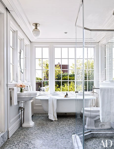 Enjoy! Trudy xx   via: Architectural Digest