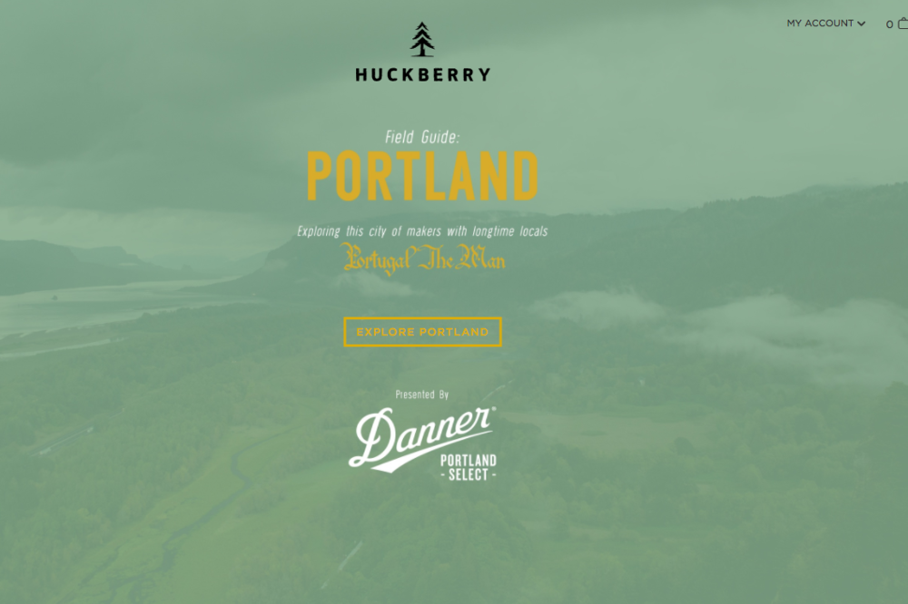 Huckberry  PDX with Portugal. The Man