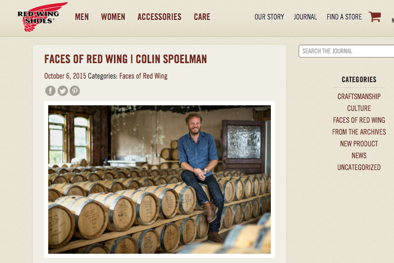 Interview for Faces of Red Wing Kings County Distillery