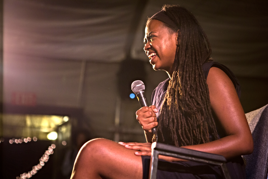 Jamia Wilson, Women, Action & The Media Photo: Dakota Fine