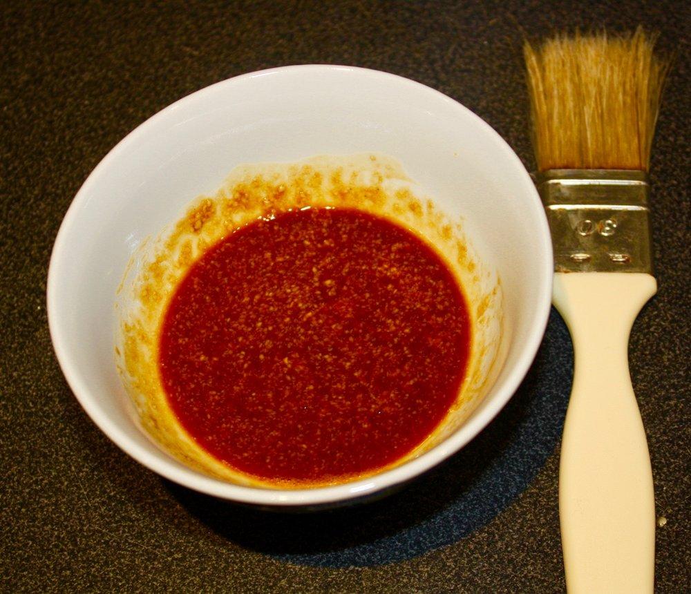 Tamari + Sesame Oil + Tahini sauce