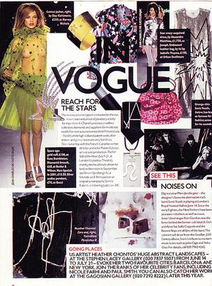 British Vogue 2001