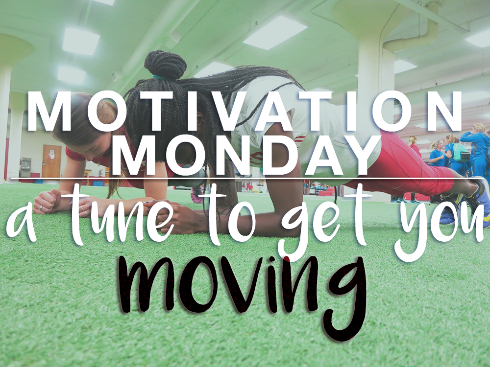 motivation monday - tunes to get you going - actively gemma