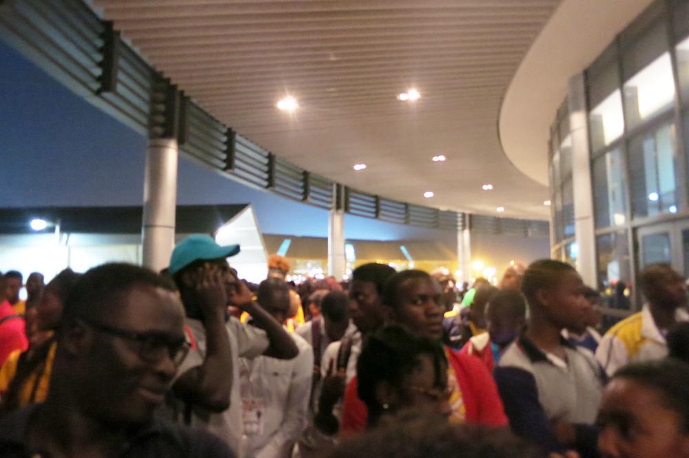 Brazzaville 2015 dinner line