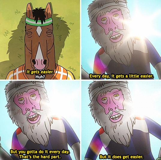 Bojack Horseman -Netflix / Via machinyan.tumblr.com