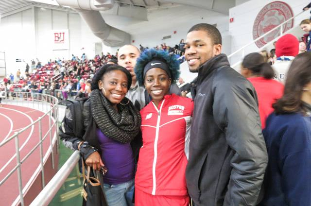 Jennifer, Kenneth, Kevin, and I at the Valentine Invitational