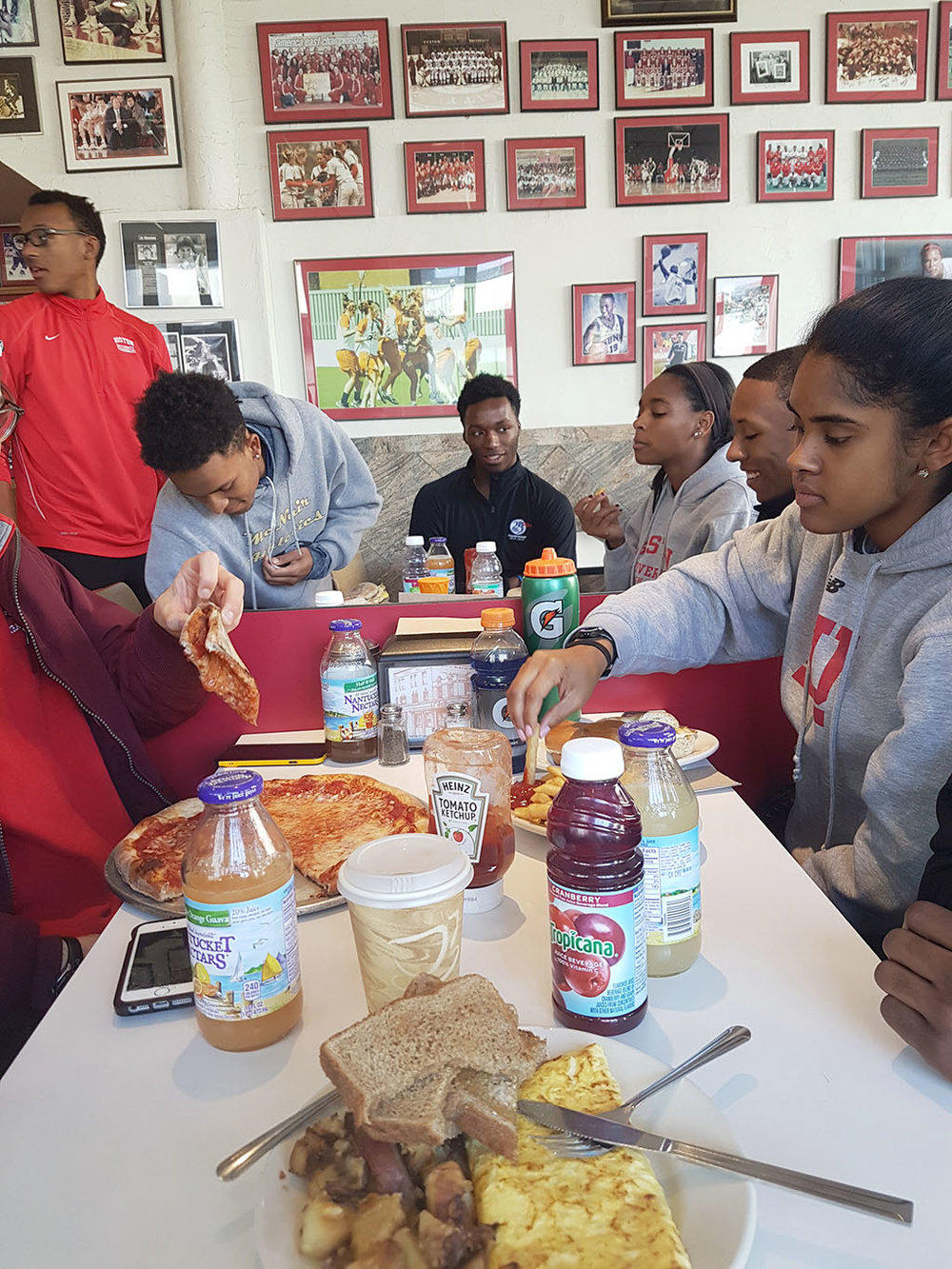 Boston University Track and Field Brunch